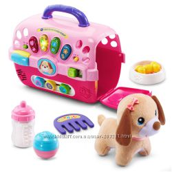 VTech Care for Me Learning Carrier Toy. Уход за щенком.