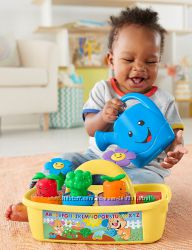 Fisher-Price Laugh & Learn Smart Stages Grow n Learn Garden Caddy.