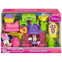 Fisher-Price Disney Minnie Mouse Magical Bow Sweet Home Garden Picnic.