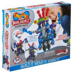 ZOOB BuilderZ ZOOB Bot. Конструктор Зуб робот с инерционным механизмом.