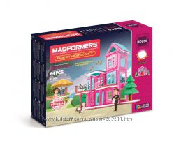 MAGFORMERS Sweet House Set. Магформерс Милый дом. 64 детали. Оригинал.