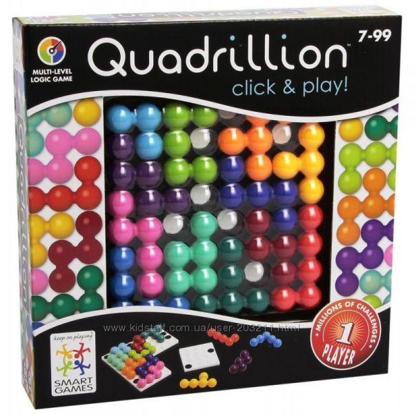 Настольная логическая игра Smart Games Quadrillion Квадриллион