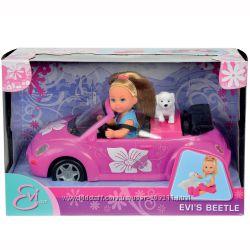Evi Love Beettle Doll. Кукла Эви с кабриолетом от Симба.