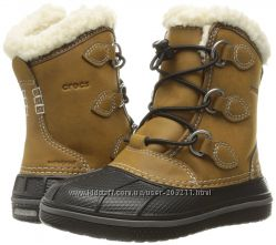 Сапожки Crocs All Cast II Boot 9 размер амер, 15. 5-15. 7 см стелька