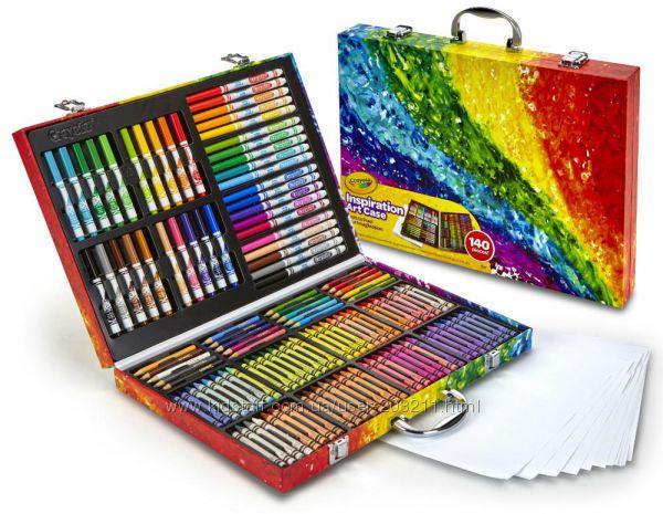 Большой набор Крайола 140 предметов. Crayola Inspiration Art Case.