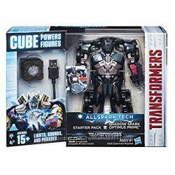 Трансформер с разными спецэффектами Оптимус Прайм Optimus Prime Cube USB