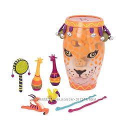 Набор музыкальных инструментов B. Jungle Jam Toy Drum Set