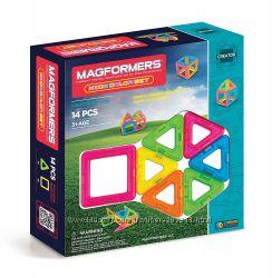 Магнитный конструктор Магформерс 14 предм Magformers Creator Neon Color Set