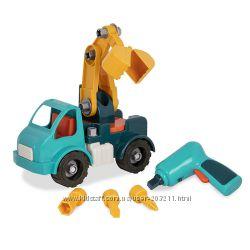 Игрушка-конструктор Разборный Грузовик Battat Take-Apart Crane Toy Truck