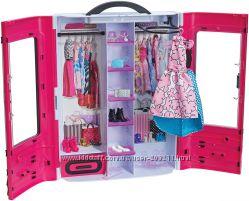 Barbie Шкаф Барби Fashionistas Ultimate Closet розовый