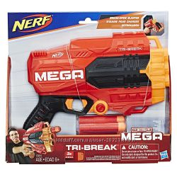 Бластер Нерф Мега Три-Брейк Nerf N-Strike Mega Tri-Break