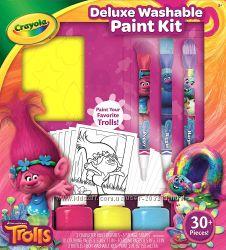 Crayola Набор для творчества Тролли со смываемыми красками Trolls Deluxe
