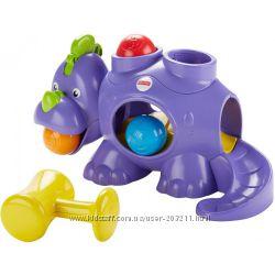 Fisher-Price Развивающая игрушка Динозаврик с шариками Whack-A-Saurus