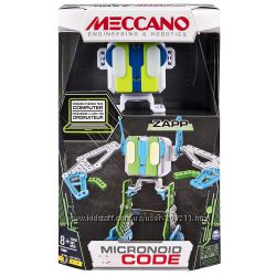 Интерактивный робот констр. Микроноид Meccano-Erector Micronoid Code Zapp