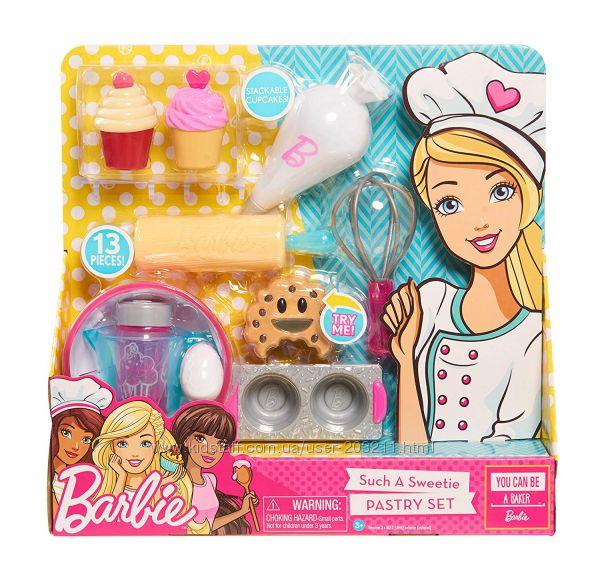 Набор кухонных аксессуаров Just Play Barbie Pastry Set.