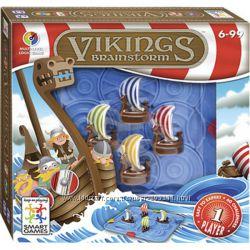 Игра - головоломка Викинги - Поймай волну, Smart Games Vikings