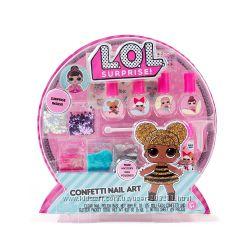 L. O. L. Surprise Confetti Nail Art Сделай свой уникальный лак ЛОЛ Конфетти