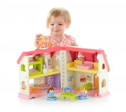 Музыкальный дом Fisher-Price Little People Surprise & Sounds Home