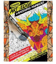 Набор Крайола раскраски по номерам с 10 маркерами Crayola Color by Number