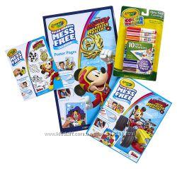 Набор Крайола Микки Маус Crayola Color Wonder Mess Free Mickey Mouse Bundle