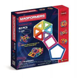 Магнитный конструктор Базовый Magformers 62 элементов Magformers Basic Set