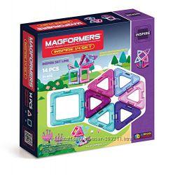 Magformers Inspire Set. Магнитный конструктор Магформерс 14 деталей