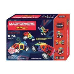 Magformers Vehicle Wow Set Магнитный конструктор Магформерс Удивительный