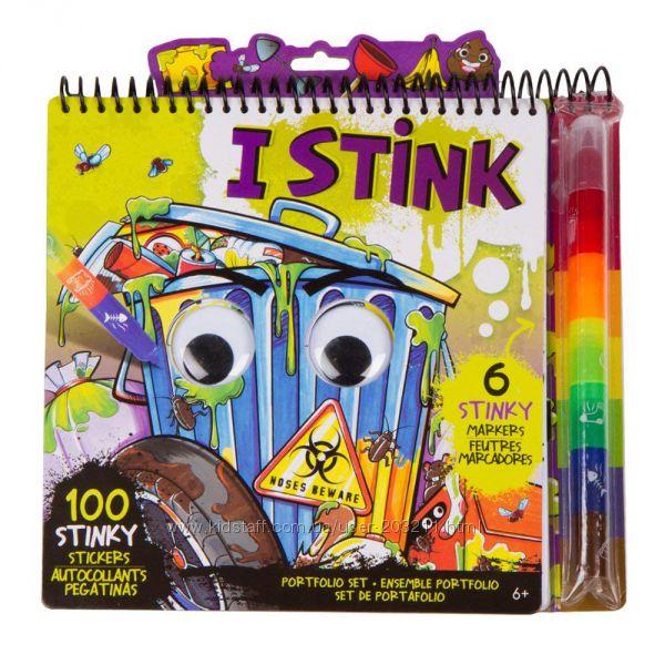 Творческая раскраска-вонючка для мальчика Fashion Angels I Stink Portfolio