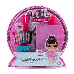 Набор с пластинами для рисования ЛОЛ L. O. L. Surprise Fashion Plates