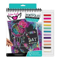 Творческий набор с пастелью Fashion Angels Pastel Sketch Portfolio
