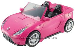 Автомобиль для Барби гламурный розовый кабриолет Barbie Glam Convertible