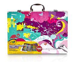 Уценка большой набор Крайола 140 предметов. Crayola Inspiration Art Case