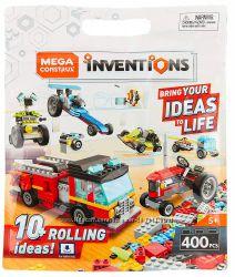 Совместимый с Лего конструктор Mega Construx Inventions Wheels Pack 400 дет