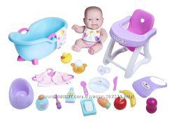 Набор пупс с аксессуарами JC Toys Lots to Love Doll Gift Set