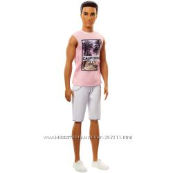 Кукла Барби Кен Модник Barbie Ken Fashionistas Cali Cool Summer Tank