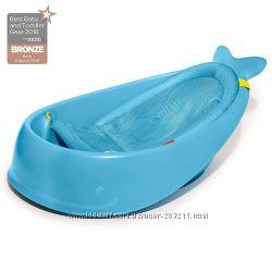 Ванночка для купания ребенка Skip Hop Moby Кит от рождения и до 11. 5 кг.