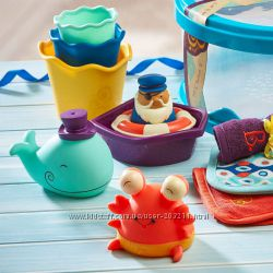 Набор для купания Wee b splashy B. toys by Battat