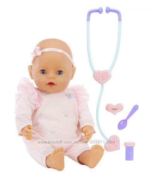 Интерактивная кукла  пупс Мама, вылечи меня Baby Born