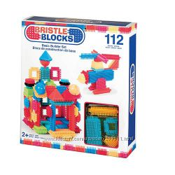 Конструктор-бристл детский Строитель Bristle Blocks Battat 112 деталей