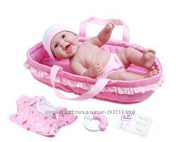 Реалистичный пупс La Newborn Realistic Baby Doll Soft Basket