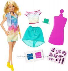Кукла Барби Дизайнер цветной штамп Barbie Crayola Color Stamp Fashions