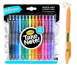 Смываемые гелевые ручки 14 шт. Крайола Crayola