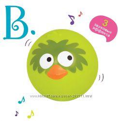 Музыкальный мячик птичка щебечет B. Toys AniBall - Birdy Bounce