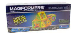 Магнитный конструктор Магформерс с подсветк 28 д Magformers Neon Blacklight