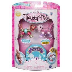 Набор Twisty Petz браслеты, ожерелье единорог, щенок и питомец-сюрприз