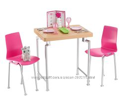 Набор Барби Стол со стульчиками и аксесс Свидание Barbie Date Night