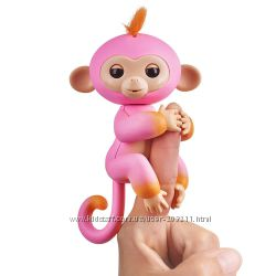 Интерактивная обезьянка Fingerlings 2Tone Monkey - Summer WowWee Оригинал.