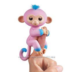 Интерактивная обезьянка Fingerlings 2Tone Monkey - Candi WowWee Оригинал.