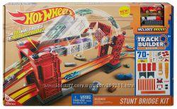 Hot Wheels Stunt Bridge Kit трек Разводной мост Hot Wheels DWW97 Оригинал