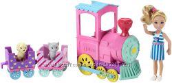 Челси и ее паровозик Чу-Чу  Barbie Club Chelsea Doll And Choo-choo Train